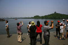 Chinese tourists at their best