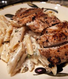 Pioneer Woman is amazing- Creamy chicken piccata.