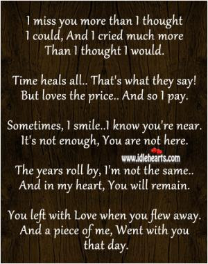 I Miss You More Than Quote Quote Number 682180 Picture Quotes