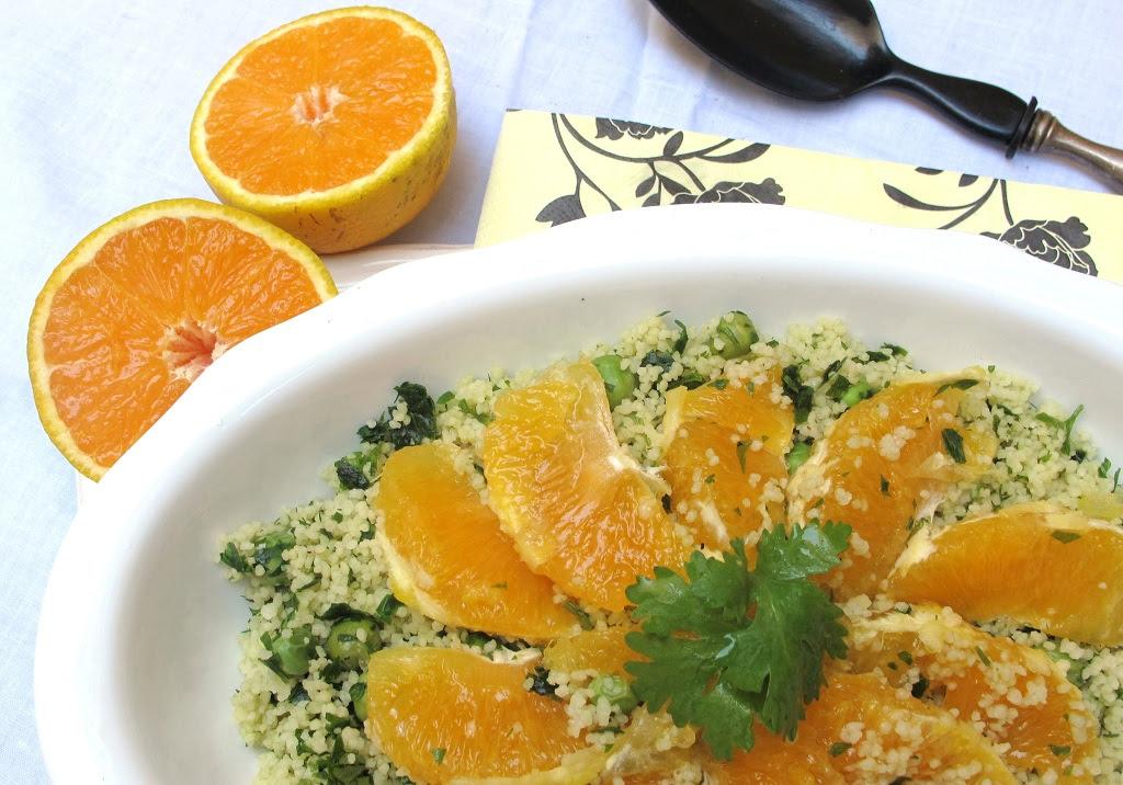 Resultado de imagen para Ensalada de arvejas y naranjas