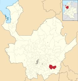 Ubicación de San Luis en Antioquia