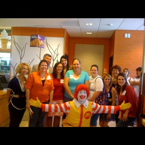 Austin McDonalds Blogger Event