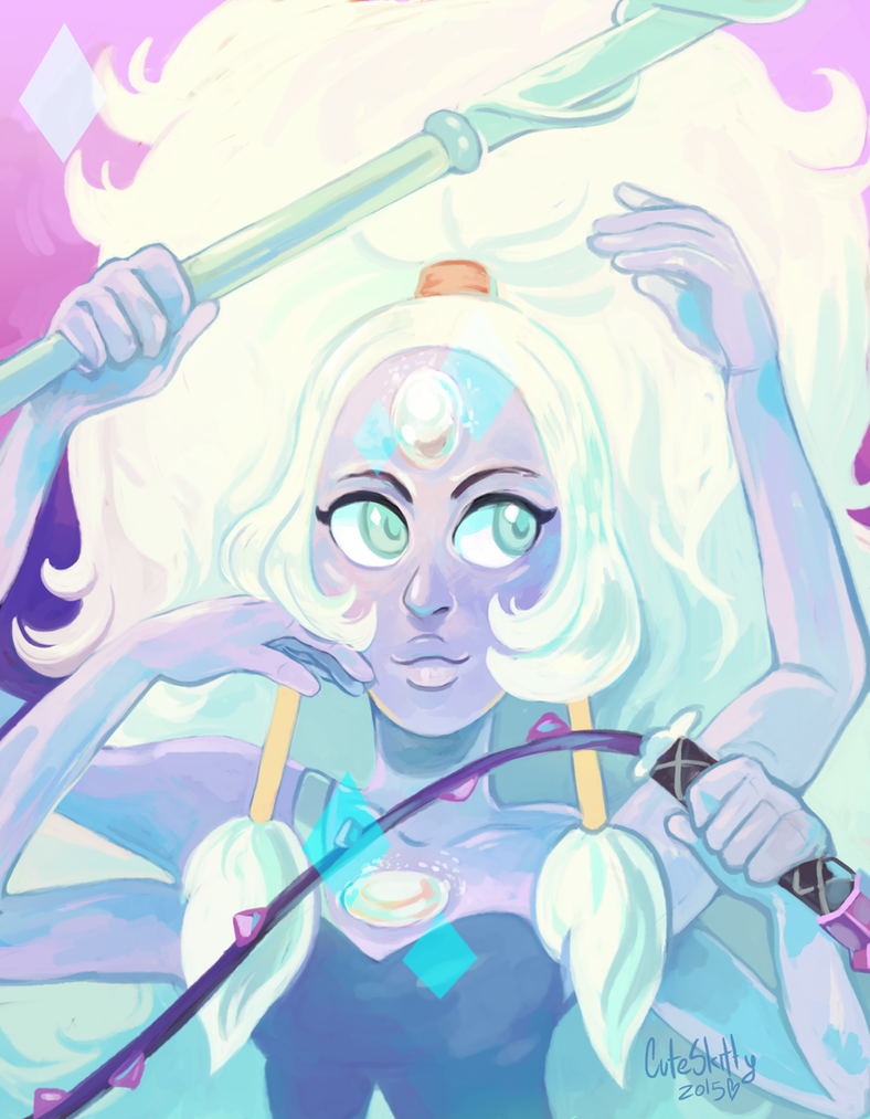 You can reblog it on tumblr, it would help me a lot! aaaah I tried to resist the Steven Universe fandom but Opal it's just too beautiful ; v ; I hope we can see her more in the future. ^^ enjoy!