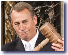 no laughing matter boehner new gavel No Laughing Matter