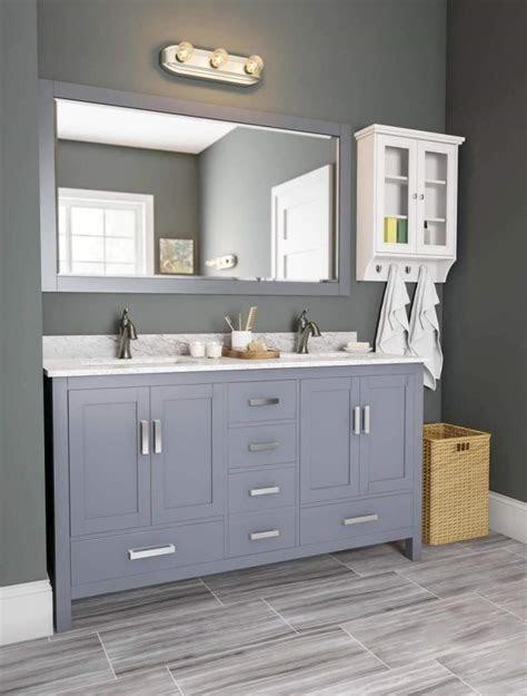 Bathroom Ideas Grey Vanity