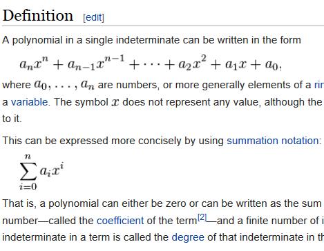 polynomial 5