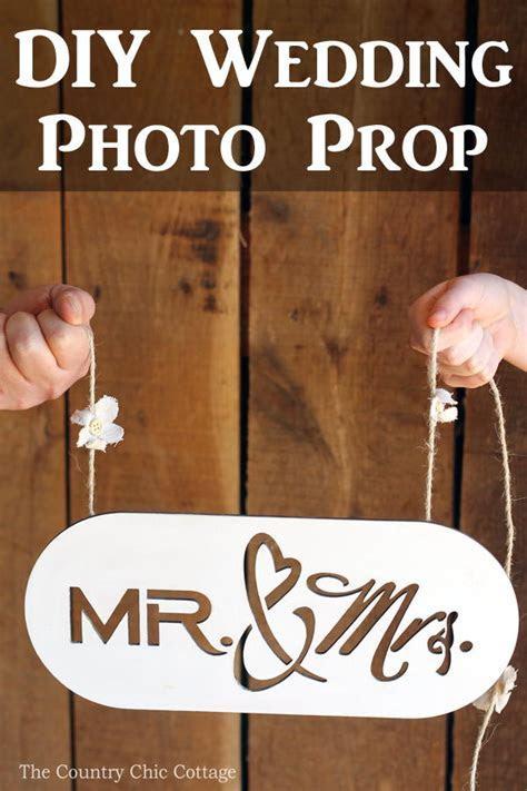 DIY Wedding Photo Prop   AllFreeDIYWeddings.com