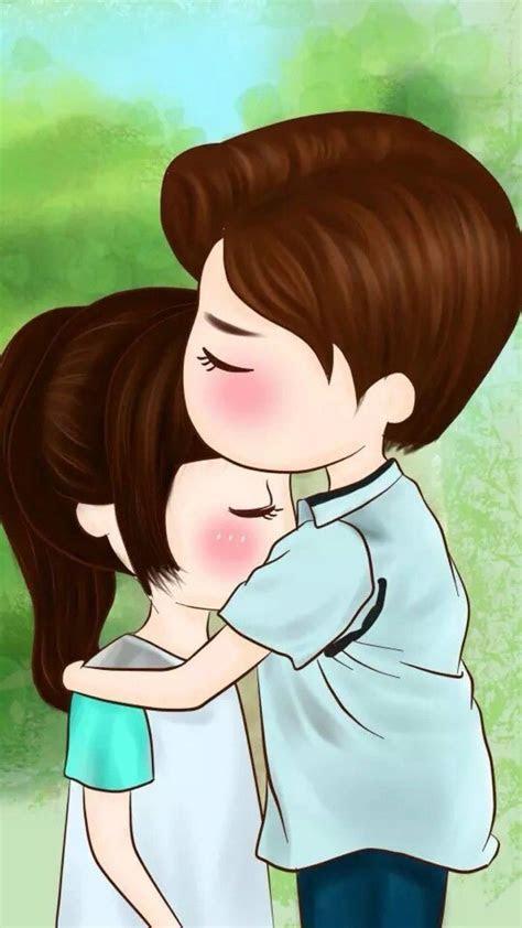 pin  rv apps  dps   cute couple cartoon anime