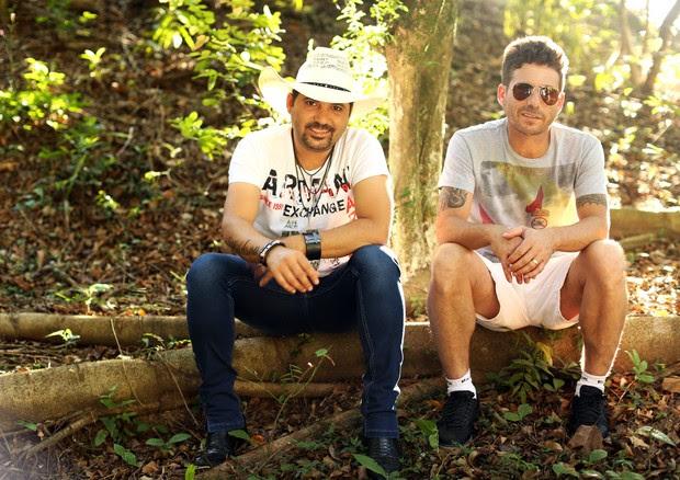 Edson e Hudson (Foto: Iwi Onodera/EGO)