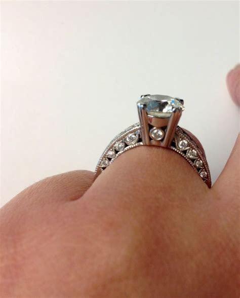 Peek a boo Diamond   Weddingbee