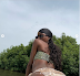 BBN star Khloe shows off bikini body with her backside in sexy display (Photos)