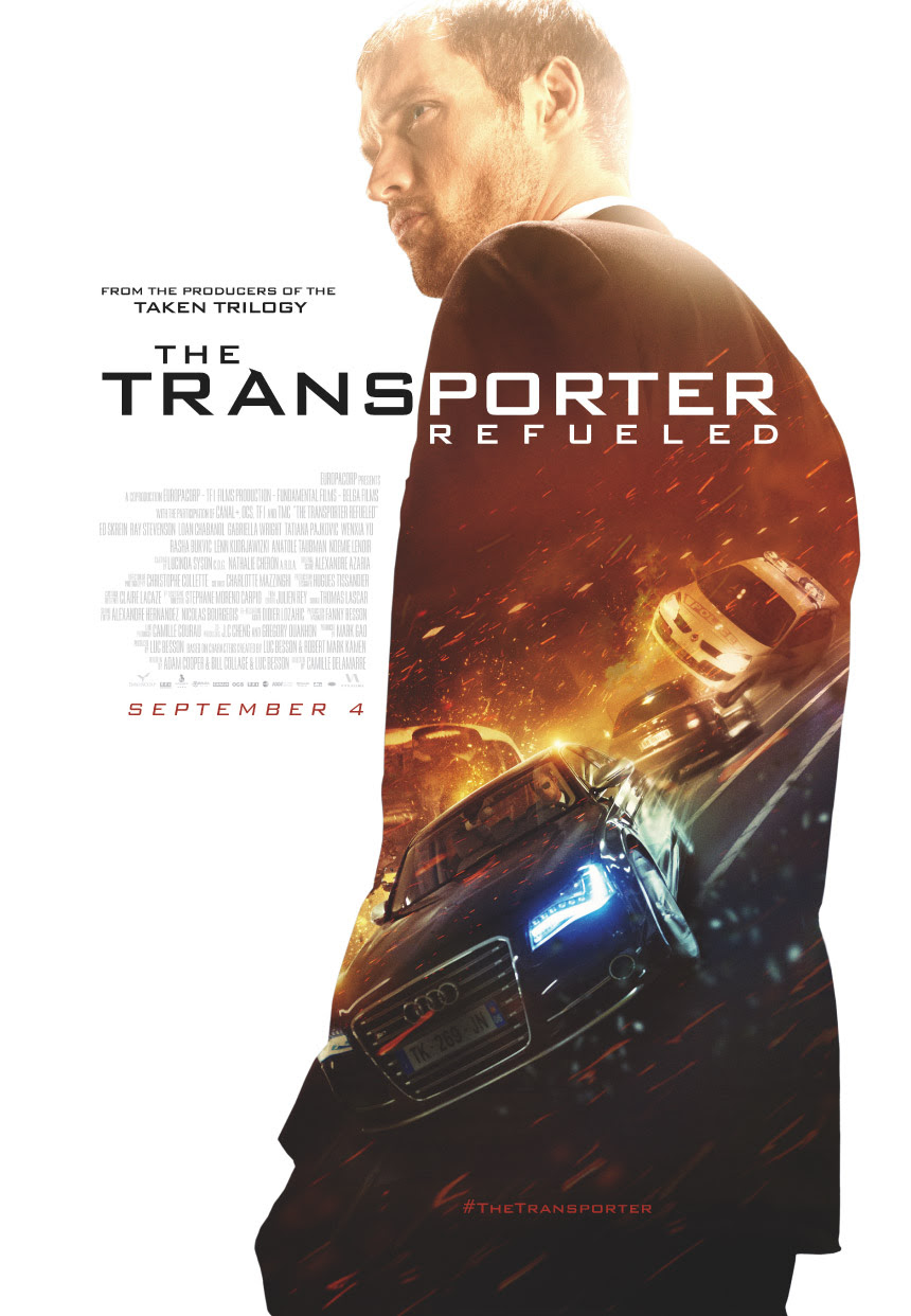 This weekend's releases: The Transporter Refueled and more ...