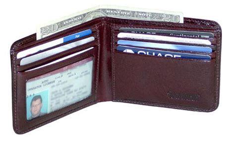 Jack Georges Sienna Bi Fold Mens Leather Wallet