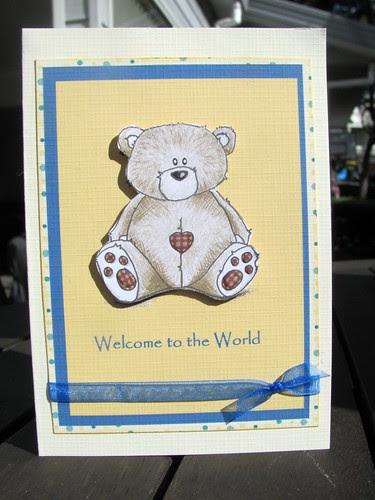 Hybrid Baby Card