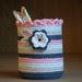 Crochet Pencil Pot Cover