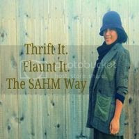 Thrift It. Flaunt It. The SAHM Way