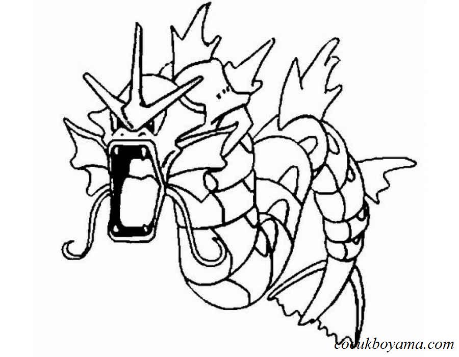 Pokemon 25 ücretsiz Boyama Resimleri
