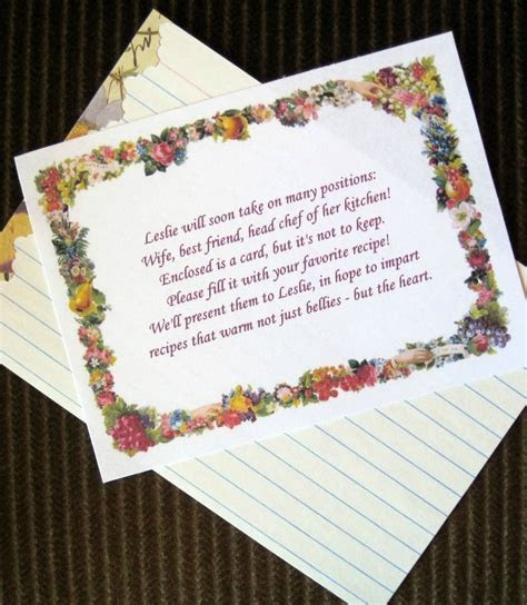 Cute Poem for Bridal Shower Invites   Party Planning   Tea