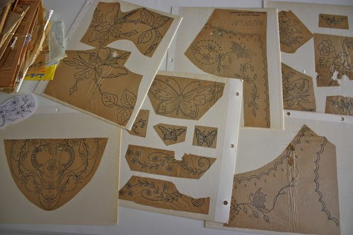 Embroidery Transfers from the Early 1900's