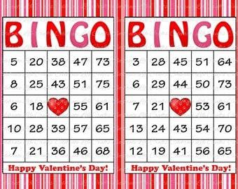 100 Merry Christmas Holiday Bingo Cards by CelebrateLifeCrafts