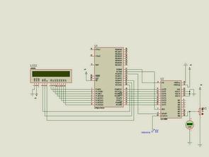 8051 với đầu dò AD Lcd Indicators Vôn kế