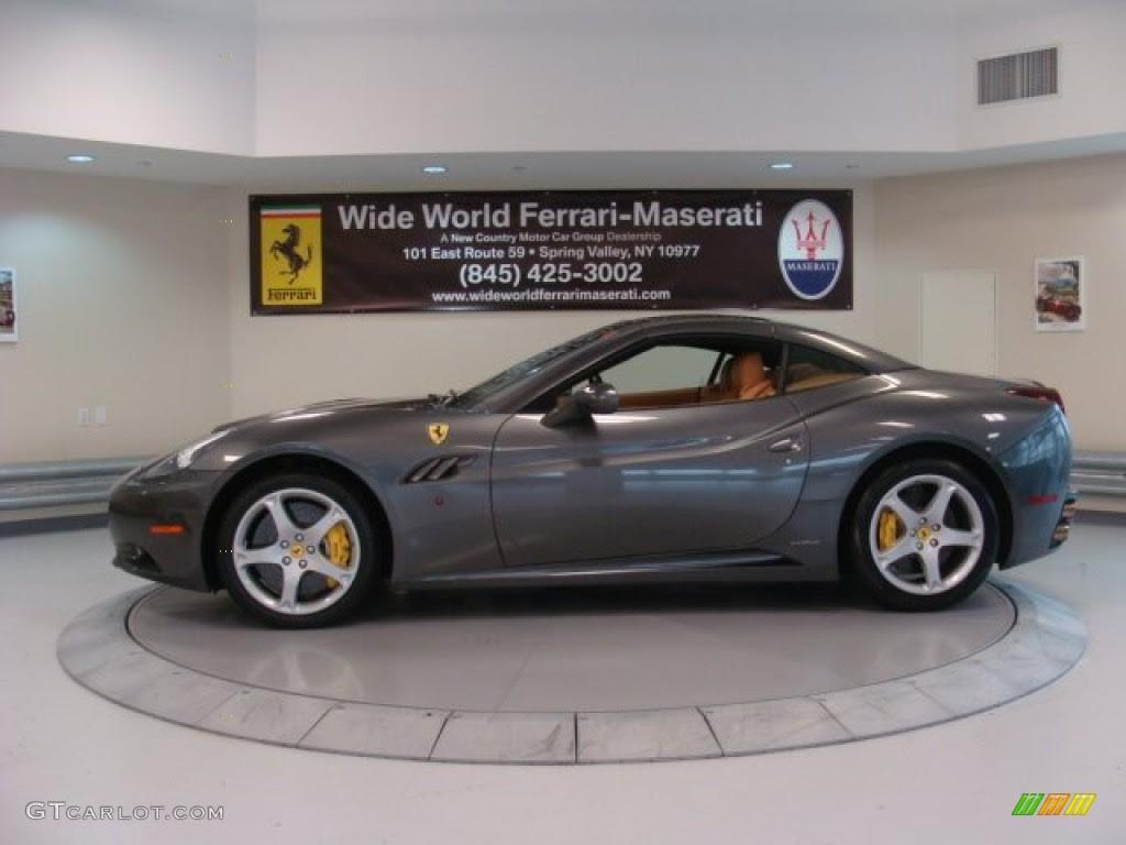 Grigio Silverstone (Dark Grey Metallic) 2011 Ferrari ...