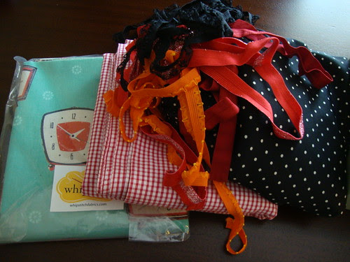fabric and elastic purchases, ahoy!