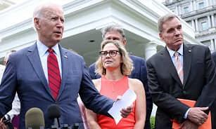 La Casa Blanca dice que las reuniones de Biden con los demócratas divididos fueron 'productivas', pero queda más trabajo por hacer