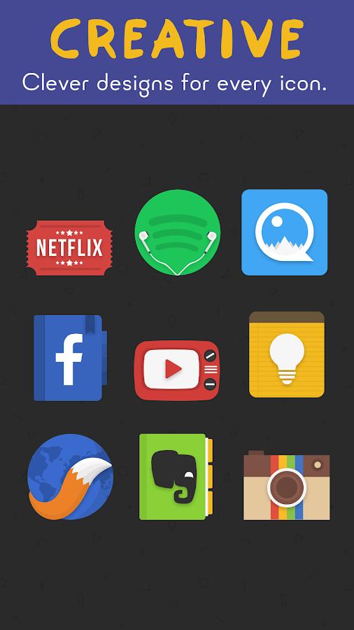 Download Fresh - Icon Pack v1.1.5 Full Apk