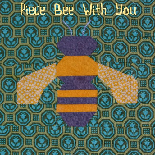 Piece Bee With You button