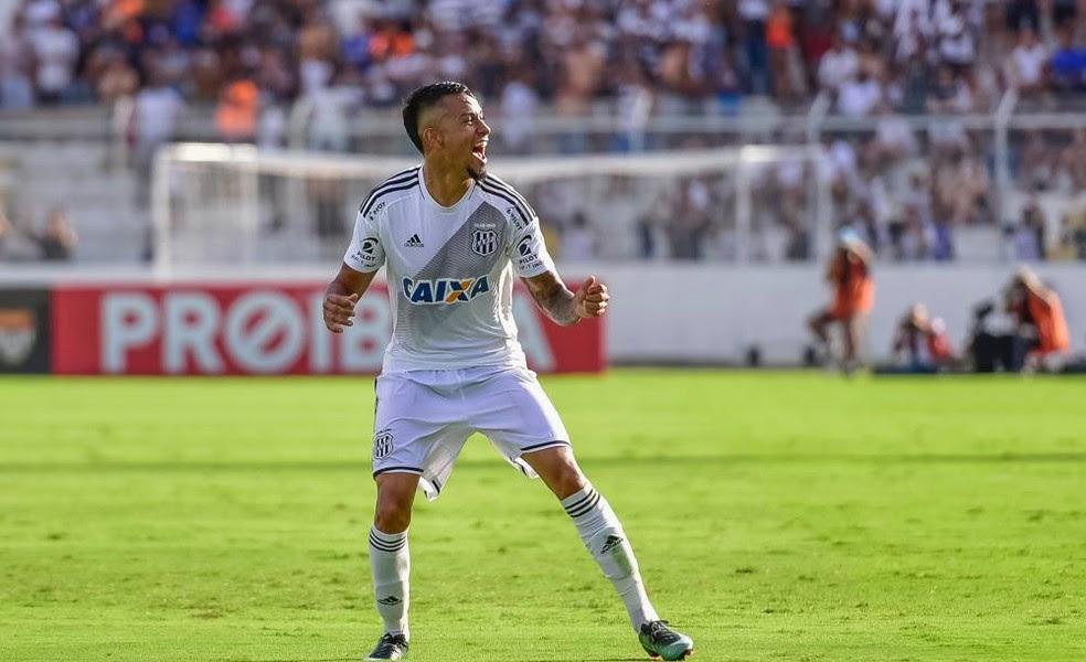Lucca é uma das esperanças de gol da Ponte para a primeira rodada do Brasileirão (Foto: Fabio Leoni/ PontePress)