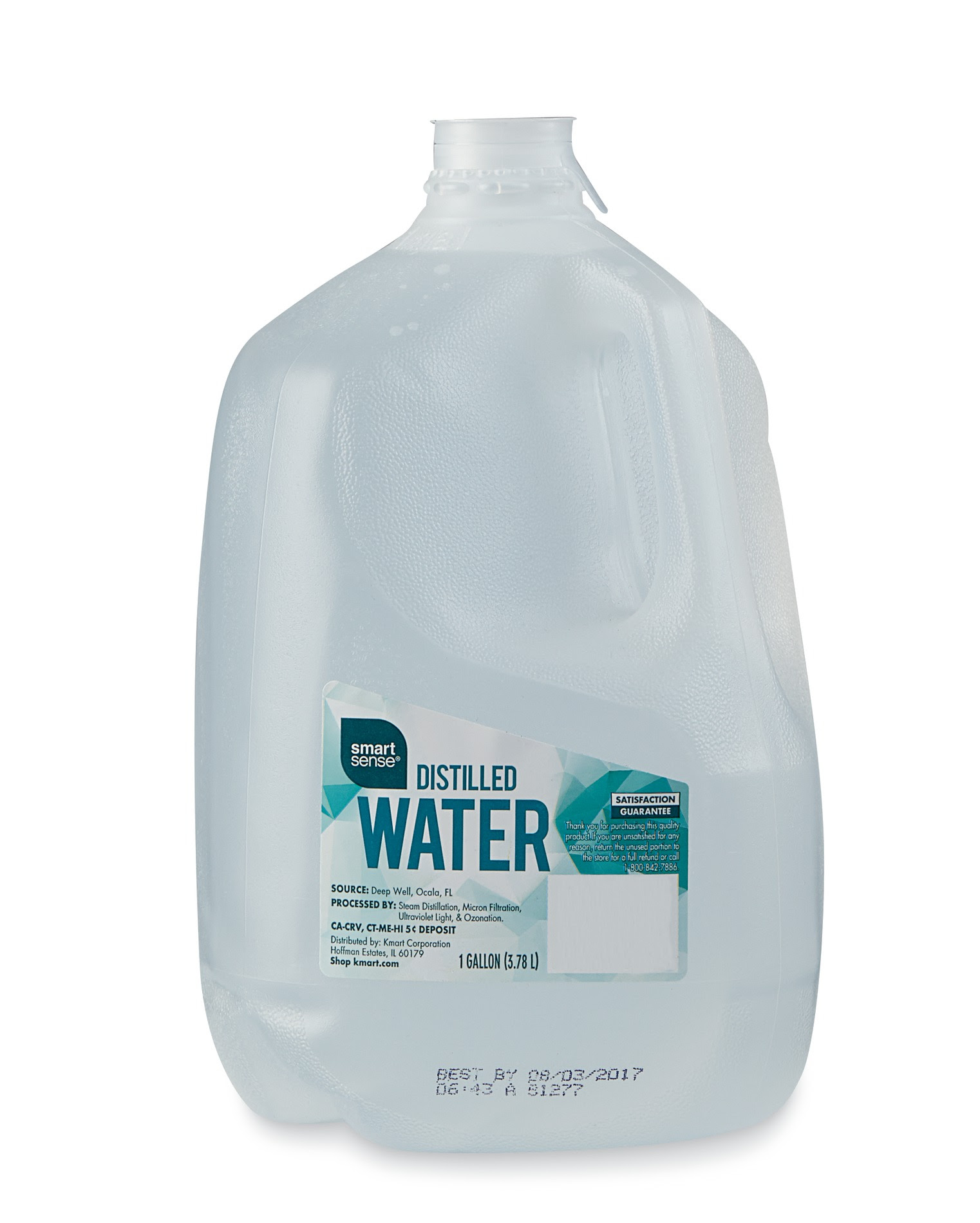 Smart Sense Distilled Water 1 Gallon Shop Your Way Online