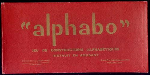 jeu alphabo boite
