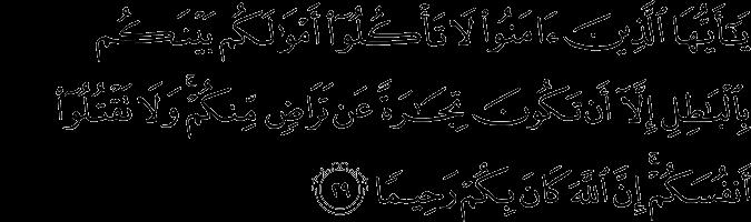 say@hafiz   4. AN NISA:29