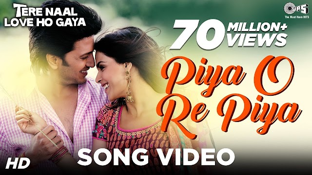 piya o re Piya lyrics - Atif Aslam & Shreya Ghoshal | lyrics for romantic song