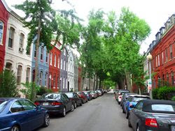 Rowhouses in Dupont Circle