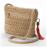 Croft & Barrow Sedona Crochet Cross-Body Handbag