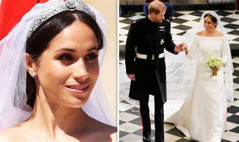 Meghan Markle wedding dress cost: How much did Meghan's