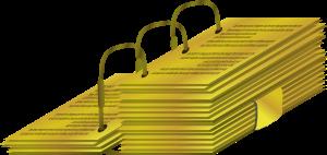 Gold Plates Clip Art