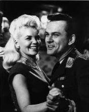 Sigrid Valdis and Bob Crane