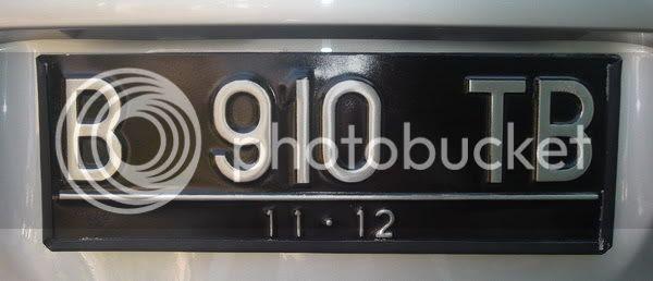 nomor polisi,tanda nomor kendaraan