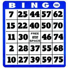 Free Printable Bingo Cards | Number generator, Printable numbers ...