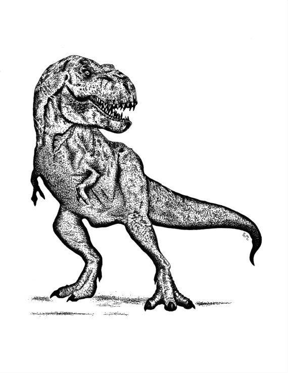tyrannosaurus rex dino ausmalbilder  malvorlagen