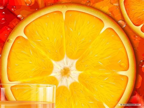 orange wallpaper fruit wallpaper  fanpop