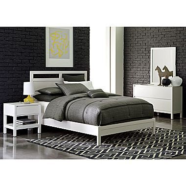 Linear White Bedroom Collection - jcpenney on we heart it / visual ...