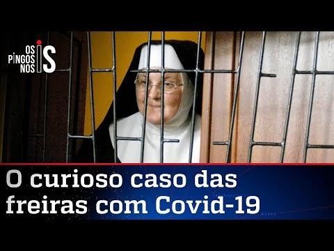 Freiras enclausuradas contraem a covid-19
