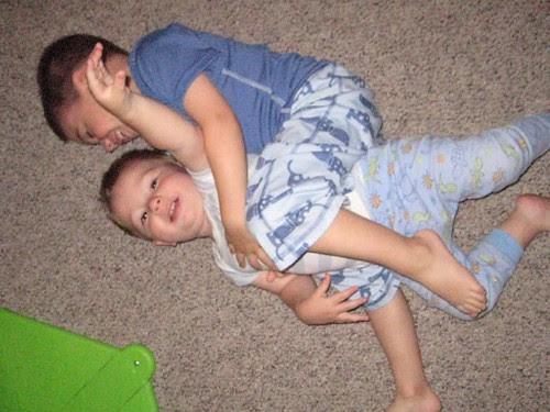 Tackling the baby