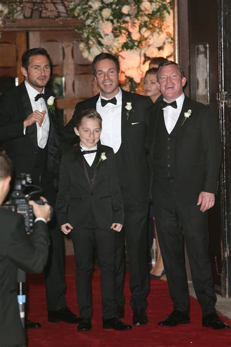 Frank Lampard arrives at wedding in smart tux, as he