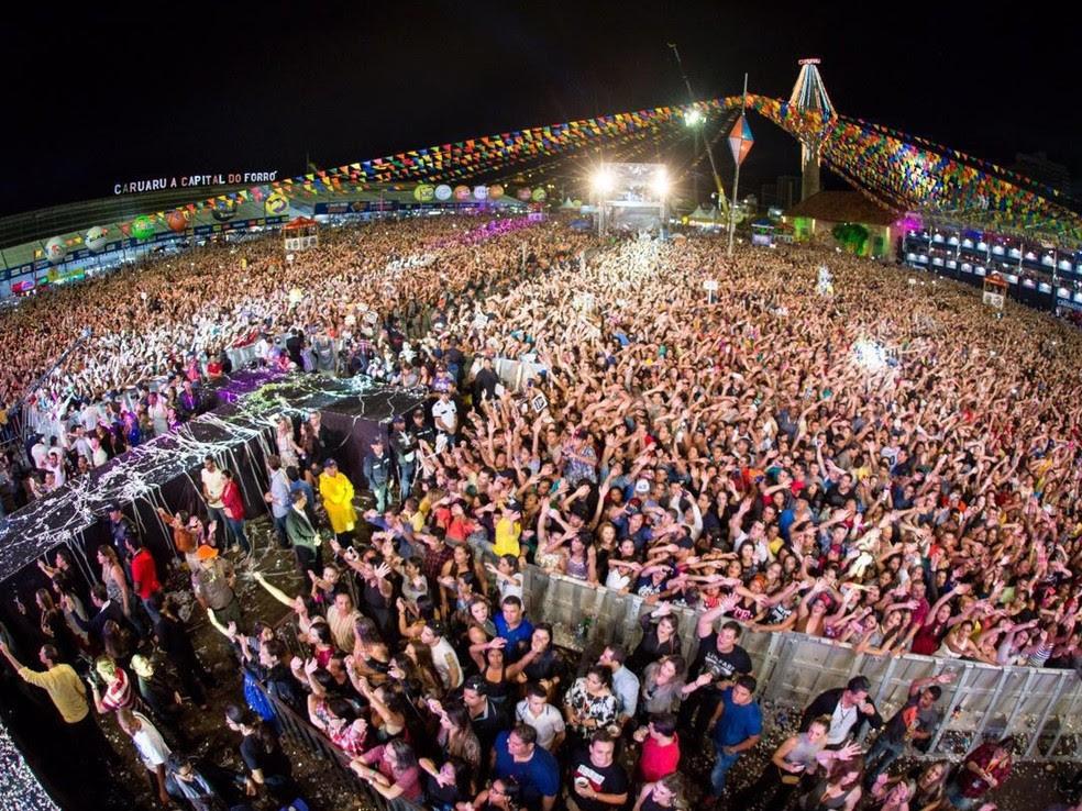 Parque de Eventos é o principal polo da festa  (Foto: Divulgação/Ederson Lima - Assessoria)
