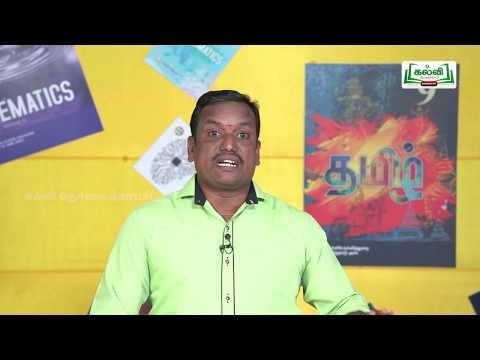 வகுப்பு 10 தமிழ் 7 நாகரிகம் தொழில் வணிகம்/கற்கண்டு புறப்பொருள் இலக்கணம் Kalvi TV